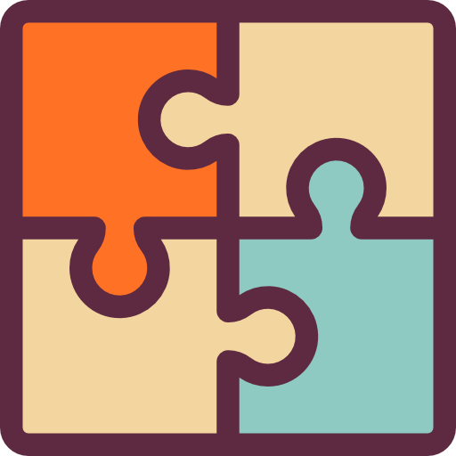 Puzzle Piece, Interface, Assemble, Jigsaw, Teamwork Icon