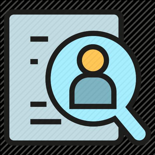 Cv, Document, Human Resource, Job Application, Magnifier, People