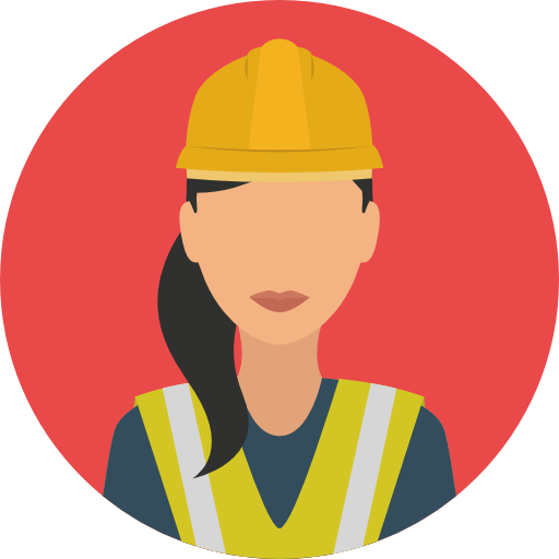 User, Avatar, Job Icon