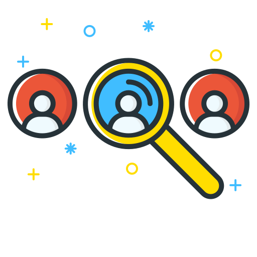 Find, Locate, Search, Find, People, User Icon Free Of Free Job Seeker