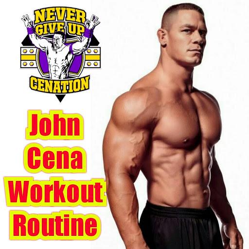 John Cena Workout Routine Monsterabs