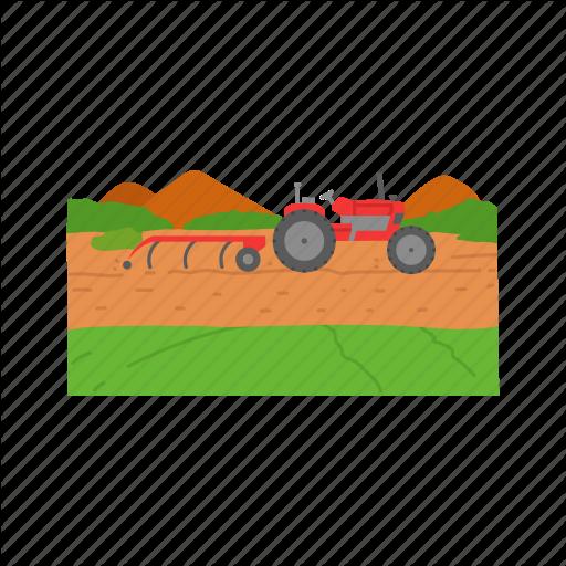 Farm, Farming, John Deere, Tractor Icon