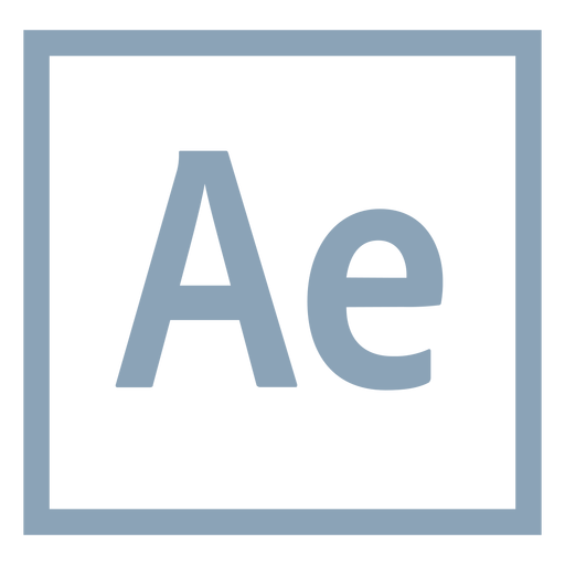 After Effects Ae Icon