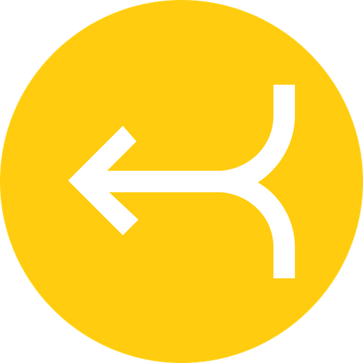 Arrow, Arrows, Merge, Joint, Left