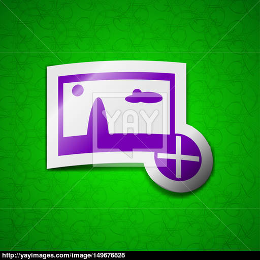 Plus, Add Icon Sign Symbol Chic Colored Sticky Label