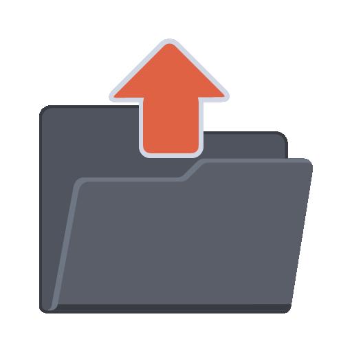 Upload Folder, Document, File, Upload, Upload Document Icon