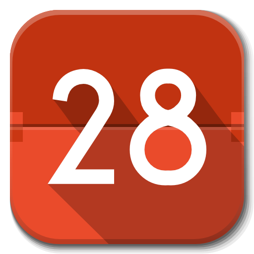 Apps Calendar Icon Flatwoken Iconset Alecive