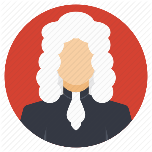Court Cases, High Court, Judge, Judgement, Traditional Judge Icon