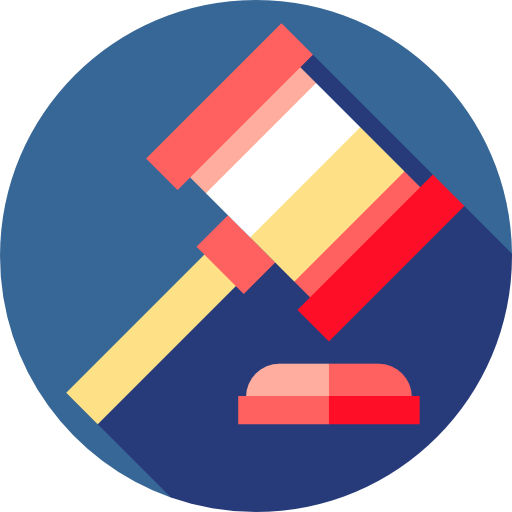Verdict, Auction, Hammer, Law, Justice, Bid, Miscellaneous, Judge Icon