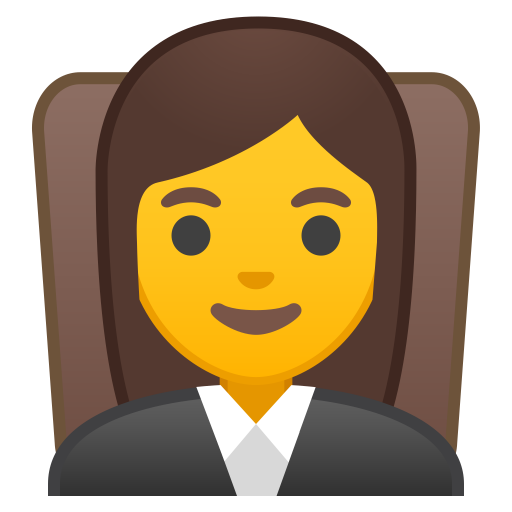 Woman Judge Icon Noto Emoji People Profession Iconset Google