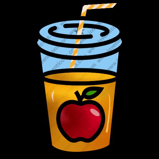 Download Apple Juice,drink,juice,water,beverage,disposable Icon