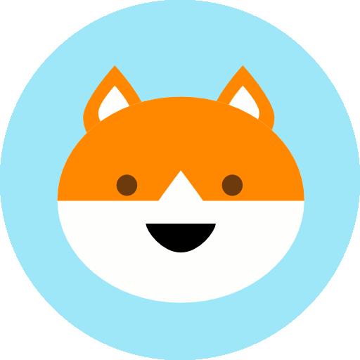 Animal, Fox, Jungle, Safari, Zoo Icon