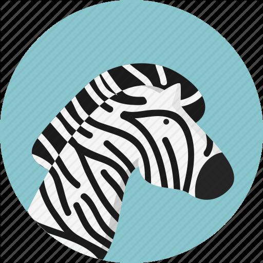 Animal, Jungle, Safari, Zebra Icon