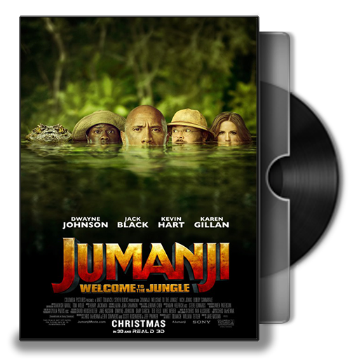 Jumanji Welcome To The Jungle Folder Icon