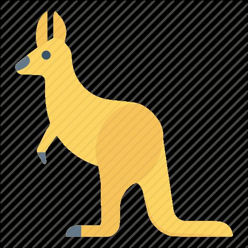 Animal, Forest, Kangaroo, Mammal, Zoo Icon