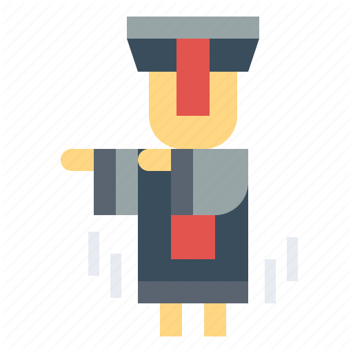 Chinese, Ghost, Jiangshi, Scary Icon