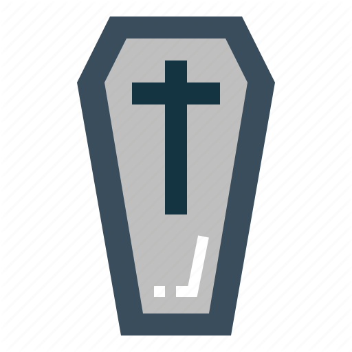 Coffin, Dead, Halloween, Scary Icon