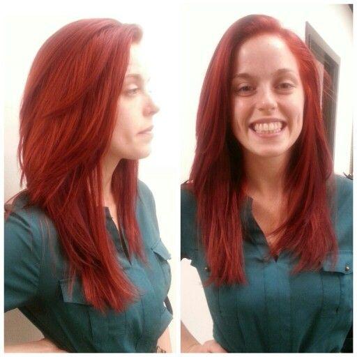 Bright Mermaid Red!! Schwarzkopf Igora Royal My Passion