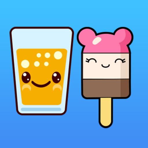 Kawaii Food Emoji Keyboard Sticker Packs
