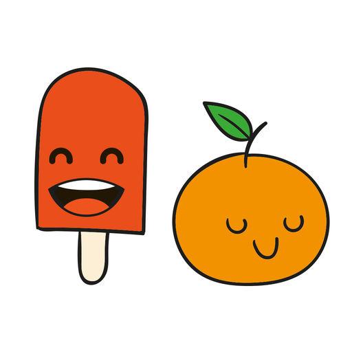 Kawaii Food Emojis