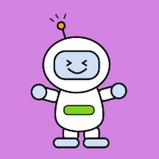 Robot Moji Kawaii Emoji