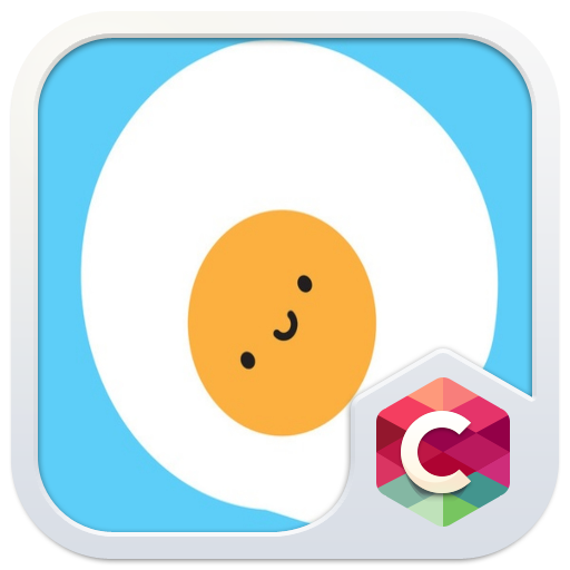 Kawaii Egg Free Android Theme U Launcher