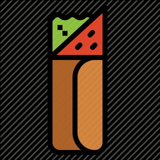 Fast Food, Kebab Icon