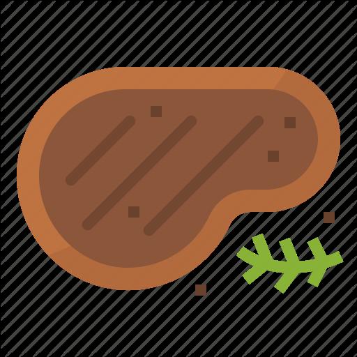 Food, Menu, Restaurant, Steak Icon