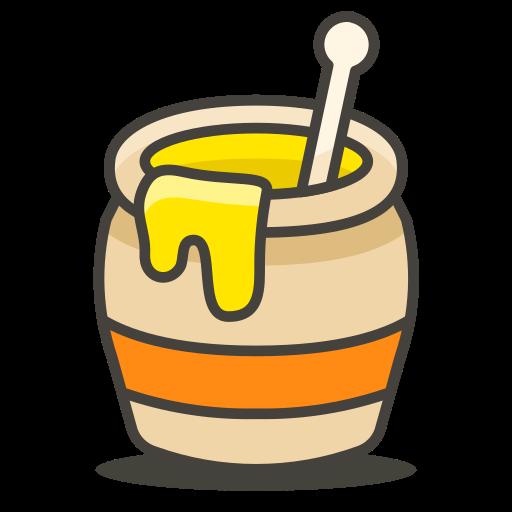 Honey, Pot Icon Free Of Free Vector Emoji