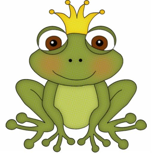 Fairy Tale Frog Prince With Crown Cutout The Frog