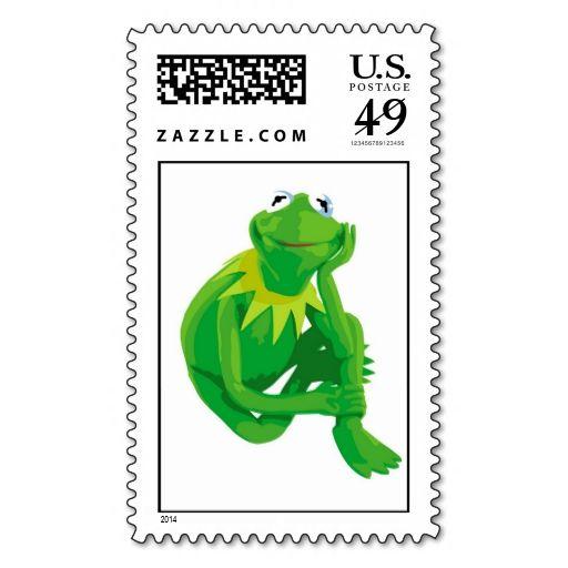 Kermit The Frog Charming Eyes Disney Postage