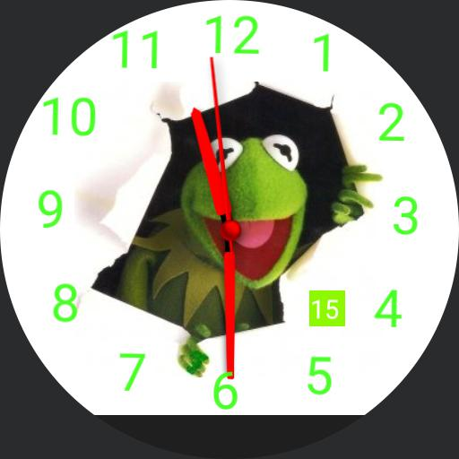 Muppets Kermit The Frog Watchfaces For Smart Watches