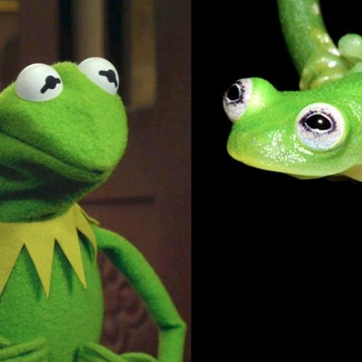Weird Animals On Twitter No Way The Real Kermit The Frog