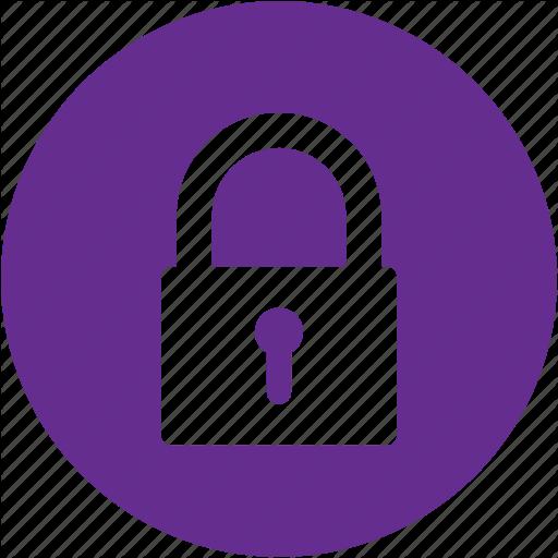Circle, Key, Lock, Locked, Password, Protection, Security Icon