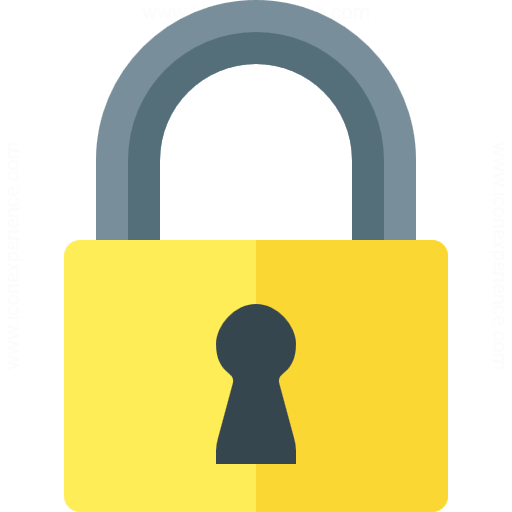 Iconexperience G Collection Lock Icon
