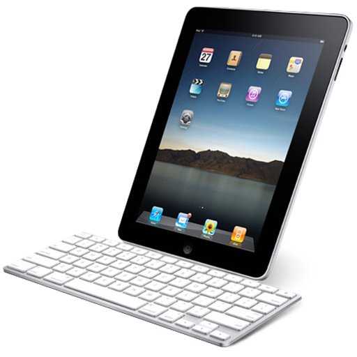 Ipad With Keyboard Icon Ipad Iconset John Freeborn