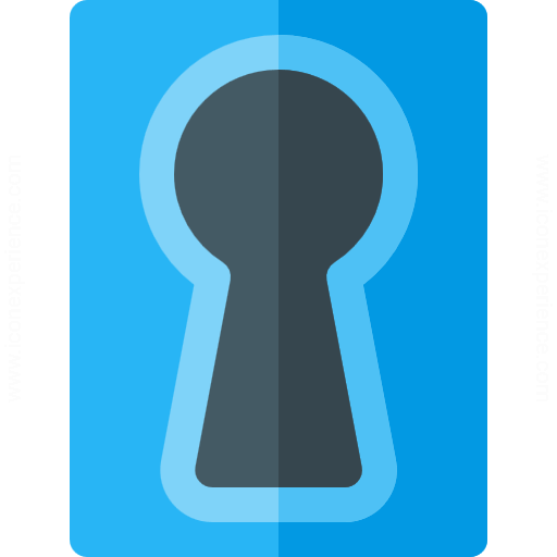 Iconexperience G Collection Keyhole Icon