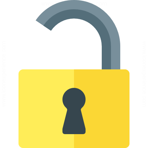 Iconexperience G Collection Lock Open Icon
