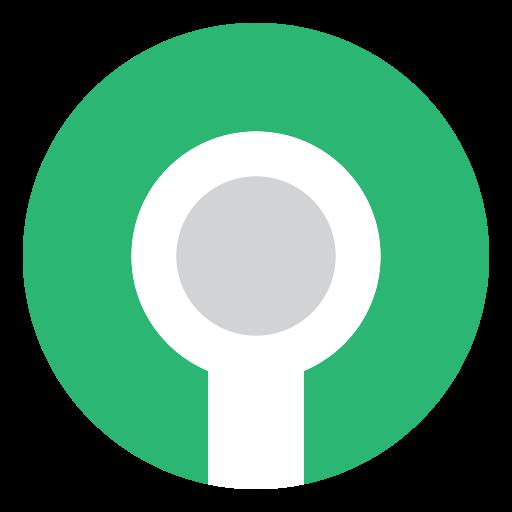 Keyhole, Hole, Key, Green Icon