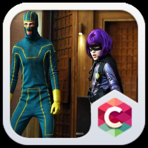 Kick Ass Free Android Theme U Launcher