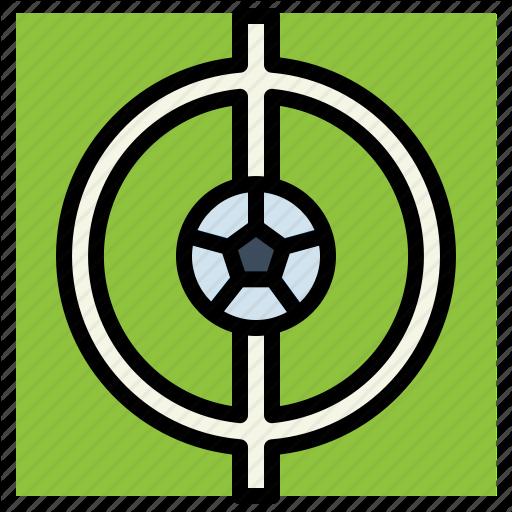 Football, Kick, Off, Point, Soccer Icon