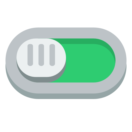 Switch On Icon Small Flat Iconset Paomedia
