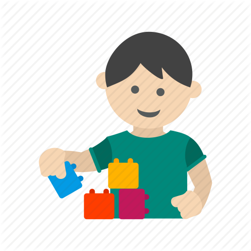 Block, Child, Happy, Kid, Lego, Playing, Toy Icon