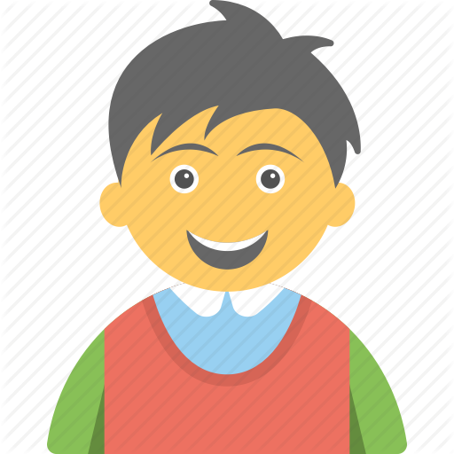 Cheerful Kid, Child, Happy Child, Joyful Kid, Smiling Child Icon