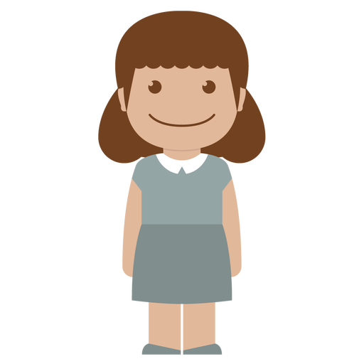 Child, Person, White, Girl, Female, Avatar, Kid Icon