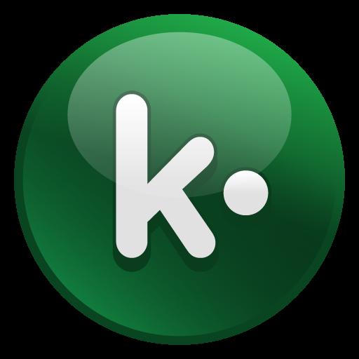 Kik Icon Glossy Social Iconset Social Media Icons