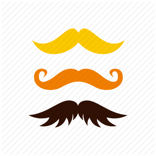 Disguise, Hair, Kind, Male, Moustache, Three, Vintage Icon