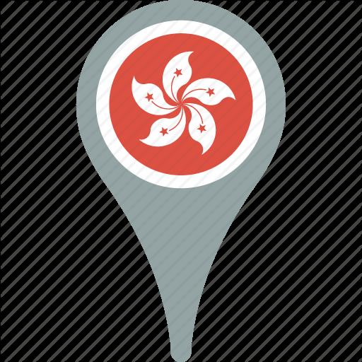 Hong Kong Map Icon
