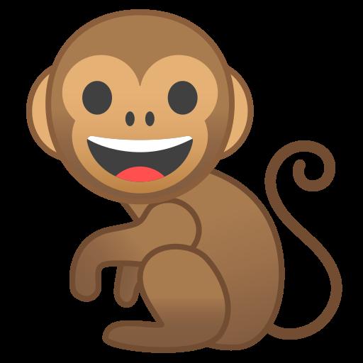 Monkey Icon Free Of Noto Emoji Animals Nature Icons