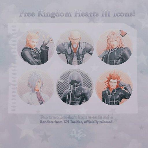Free Kingdom Hearts Icons! Kingdom Hearts Amino